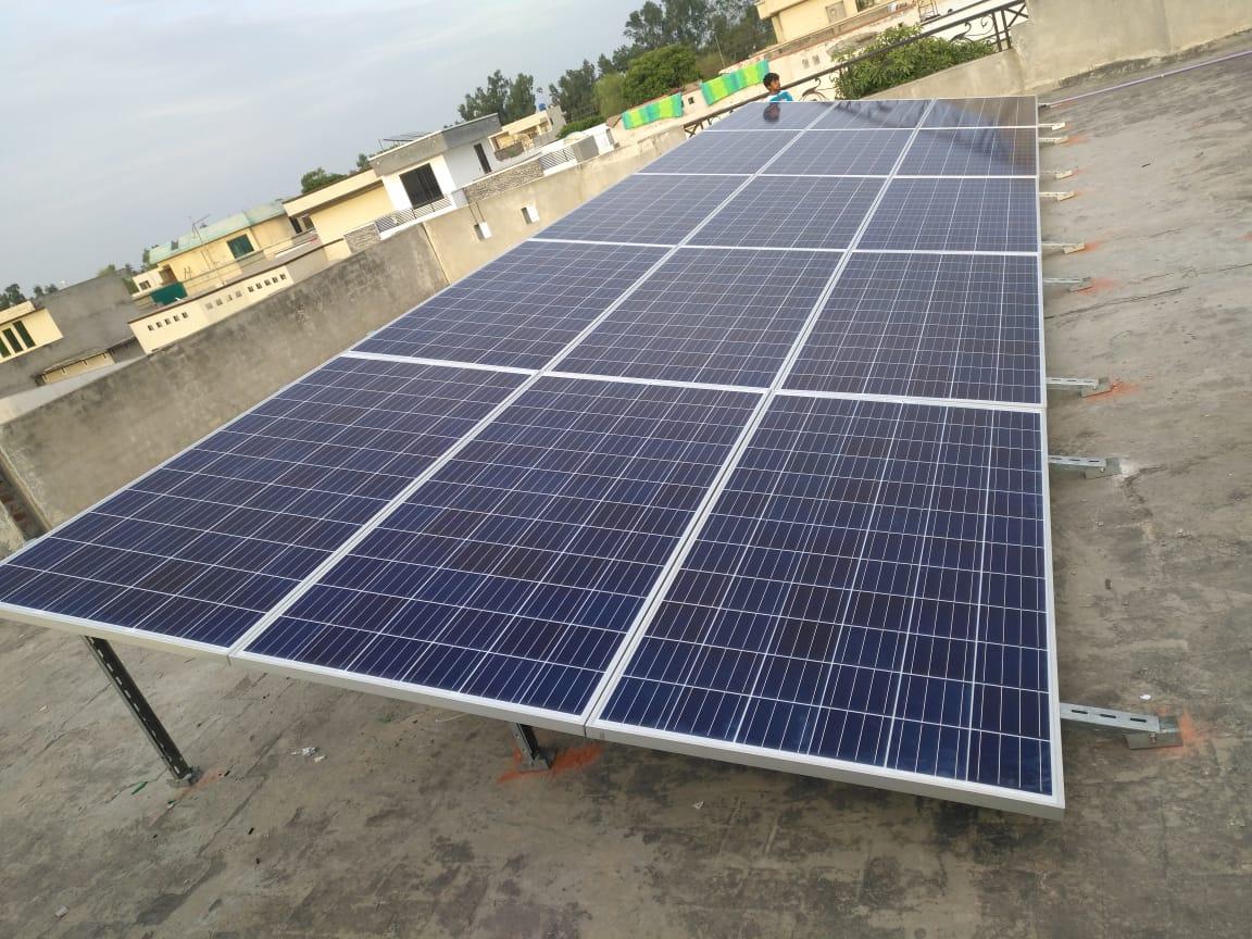 5kW Off-Grid System Wapda Town Gujranwala
