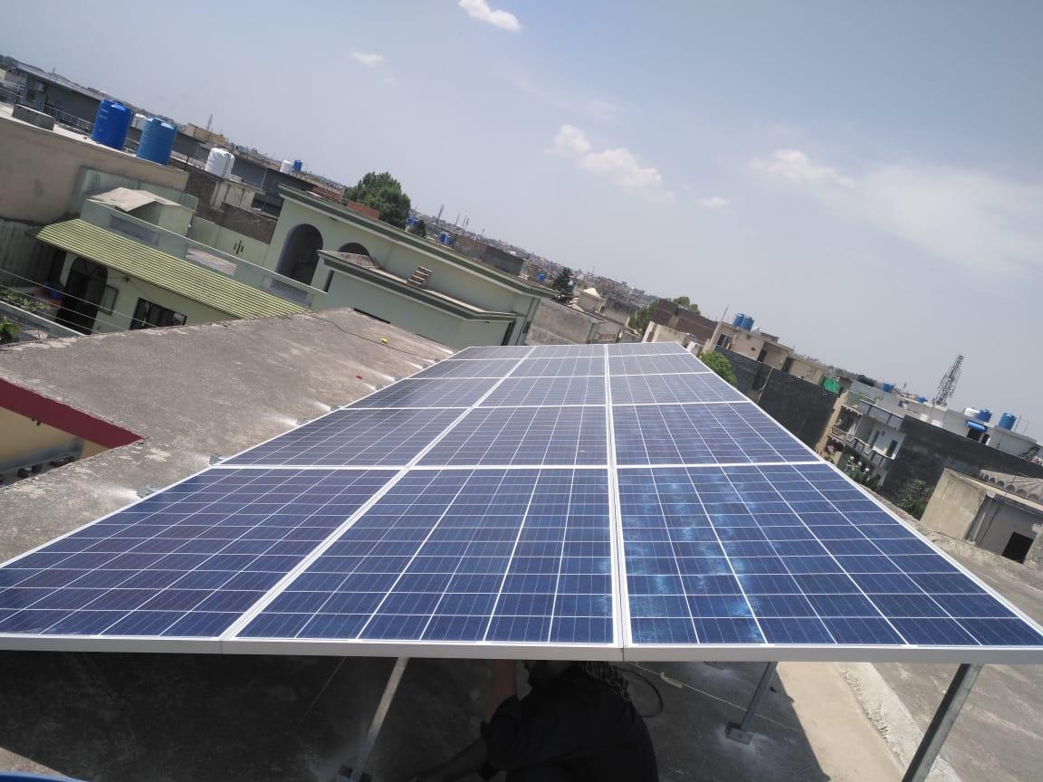 10.5kW Hybrid System Afshan Colony, Rawalpindi
