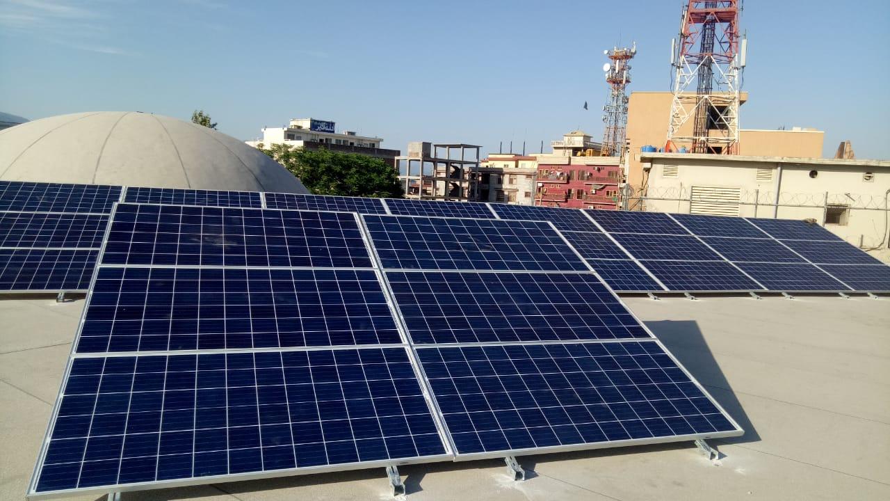 10kW Hybrid System Makki Masjid, Faizabad, Islamabad