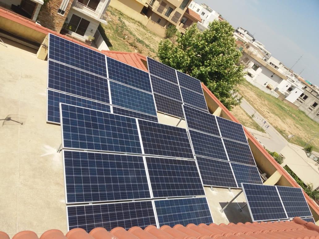 10kW On-Grid, Net-Metering System DHA Islamabad