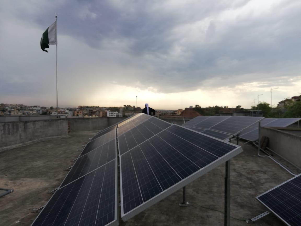 10.75kW Net-Metering System, Major Naveed, Askari-14, Rawalpindi