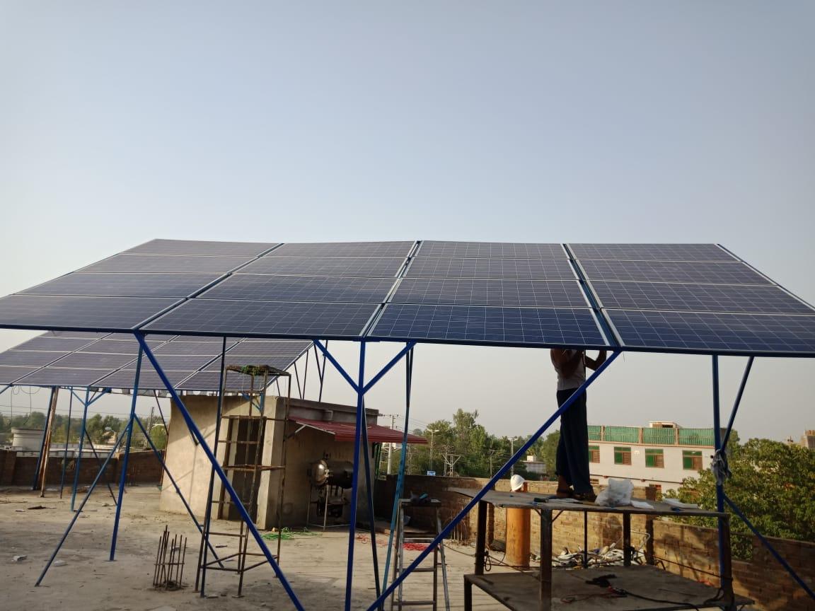 10.10kW Hybrid System, Dr. Sadaf Hospital, Ghauri Garden, Islamabad