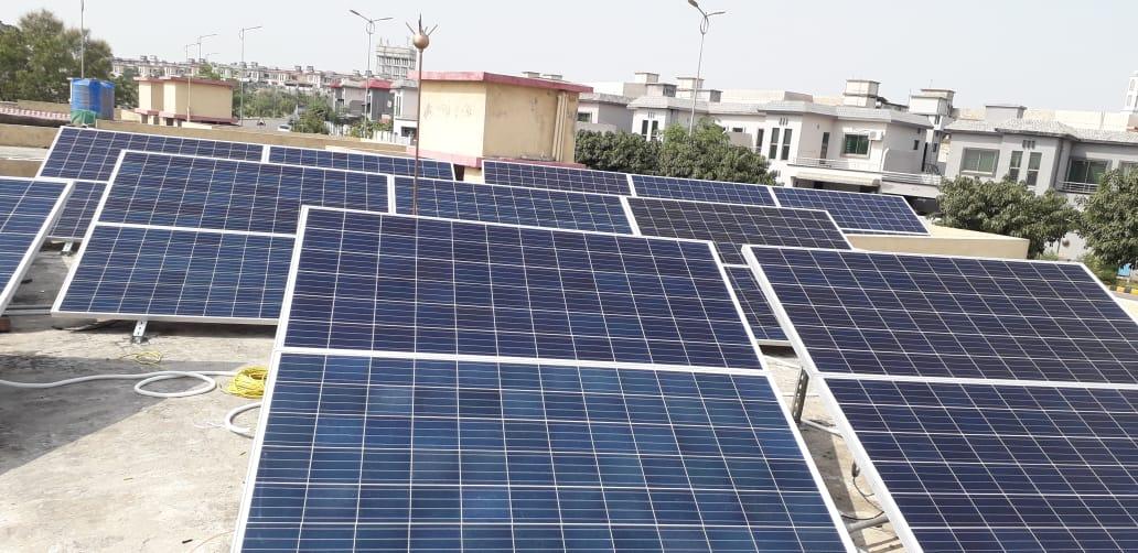 10.75kW Net-Metering System, Askari 14, Rawalpindi