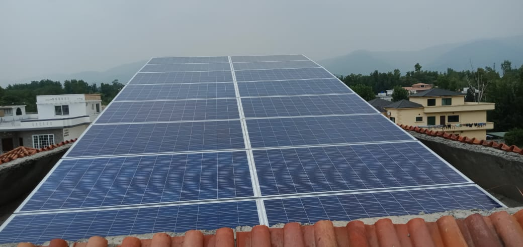 5.5kW Net-Metering System, F-10 Islamabad