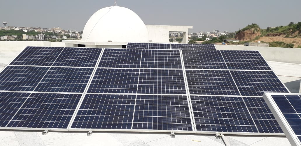 10kW Hybrid System Masjid Bait-Us-Salam, Bahria Town Phase 7, Islamabad